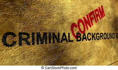 criminel, fond, confirmer