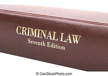 criminel, livre, droit & loi