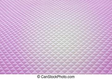 cristal, rose, arrière-plan., pattern., environnement, mur, bas, conception, poly, polygone