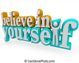 croire, -, 3d, mots, vous-même
