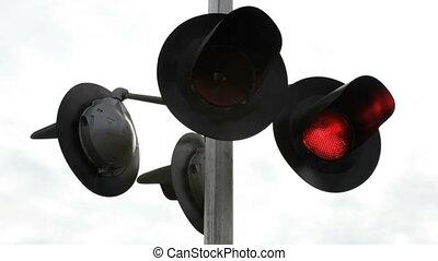 croisement, signal chemin fer