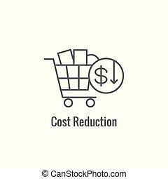 croissance, établissement des prix, rentabilité, compétitif, projection, aspect, icône, valeur, établissement des prix