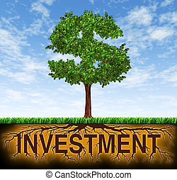 croissance, investissement financier
