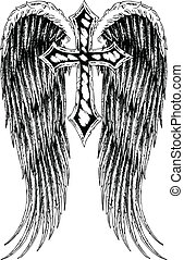 croix, aile