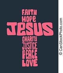 croix, jésus
