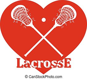 crosse, traversé, lacrosse