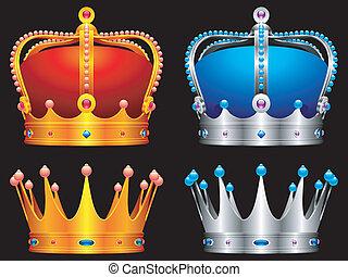 crowns.