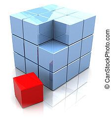 cube, construction