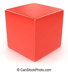 cube, rouges