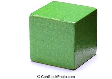 cube, vert