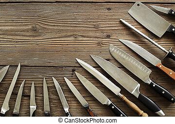 cuisine, couteaux, divers