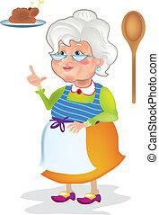 cuisine, grand-maman