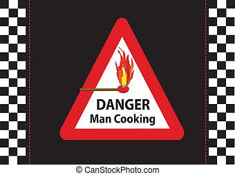 cuisine, homme
