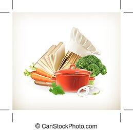 cuisine, vecteur, illustration