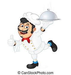 cuisinier, serveur