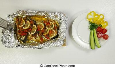 cuit, poisson préparé