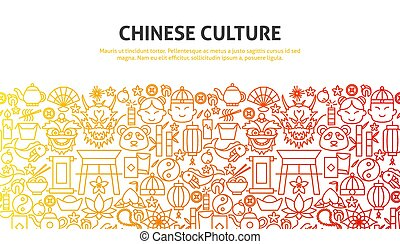 culture chinoise, concept