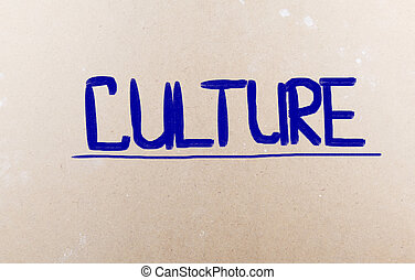 culture, concept
