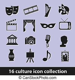 culture, icônes