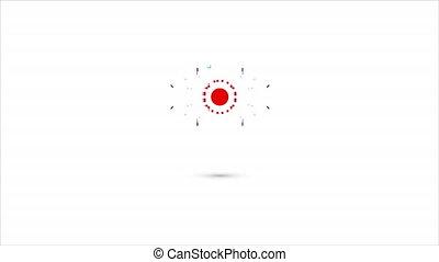 cyber, vision, logo
