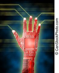 cybernétique, main