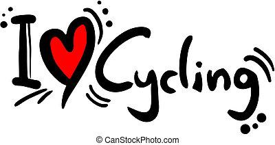 cyclisme, amour