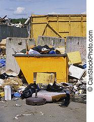 décharge ordures