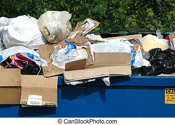 déchets ménagers, déchets
