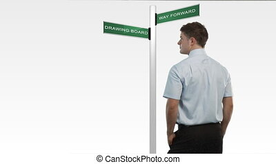 décision, business, dilema