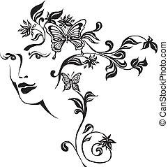 décoratif, composition