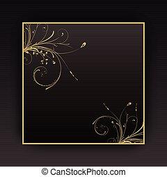 décoratif, fond
