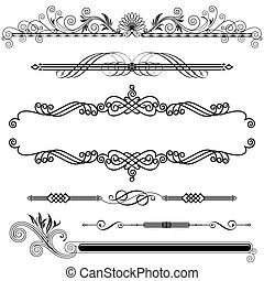 décoratif, horizontal