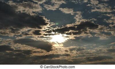 défaillance, levers de soleil, temps