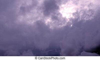 défaillance, nuages, ciel, temps