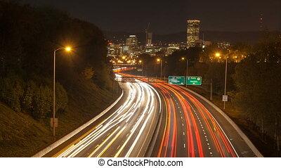 défaillance temps, trafic, pistes, lumière