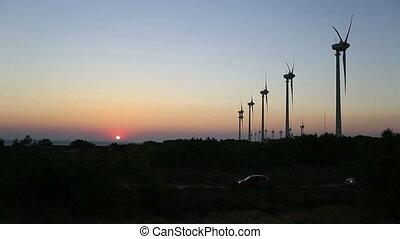 défaillance, temps, turbine, vent, 6