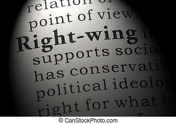 définition, right-wing