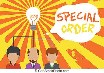 démarrage, personnes, spécial, équipe, texte, signe, idée, routine, article, photo, trois, projection, conceptuel, requested, note, spécifique, militaire, meeting., partage, order., cadre, groupe, quartiers généraux, icon.