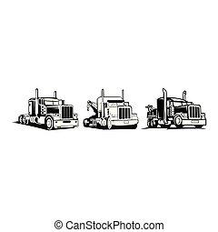 dépanneuse, caravane, logo