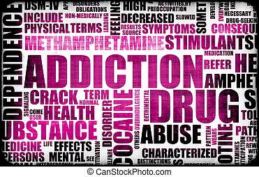 dépendance, drogue