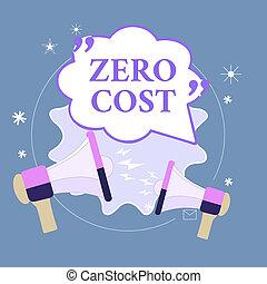 dépense, vide, n'importe quel, signe, décision, projection, entail, citation, deux, parole, photo, cost., pas, marque, cris, porte-voix, conceptuel, exécuter, arguing., texte, zéro, business, bulle