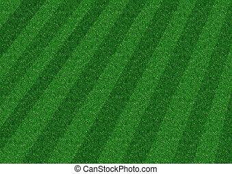 dépouillé, pelouse