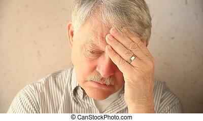 déprimé, plus vieil homme