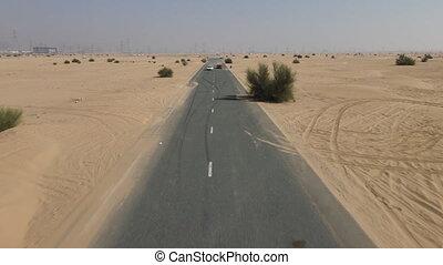 désert, courses, sport, voiture