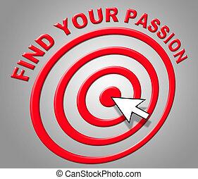 désir, adoration, trouver, indique, passion, sexuel, ton