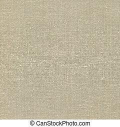 détaillé, bronzage, burlap, tissu, espace, vendange, gris, rustique, lin, naturel, fond, textured, grunge, vieux, beige, copie, jaunâtre, texture