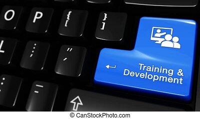 développement, formation, button., mouvement, informatique, en mouvement, clavier, 323.