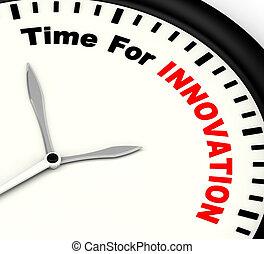 développement, ingéniosité, projection, innovation, créatif, temps