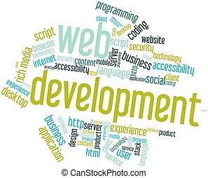 développement, toile