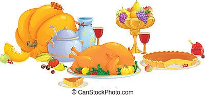 dîner thanksgiving